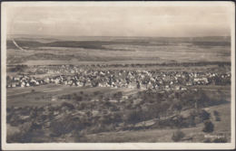 AK Mössingen Totalansicht, Gelaufen 1928 - Deutschland