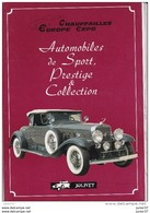 Chauffailles Europe Expo N°4 , Jolivet, Delage, Cadillac, Bugatti,Hispano, Rolls,Ferrari, - Auto/Moto