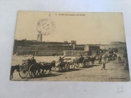 CPA MAROC - CASABLANCA - 6 - Arrivée D'un Convoi à Dar Chaffai - Casablanca