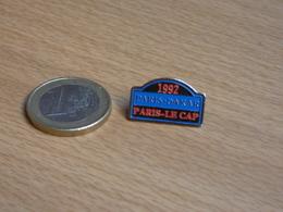 AUTOMOBILE  RALLYE . PARIS DAKAR 1992. PARIS LE CAP. - Rallye