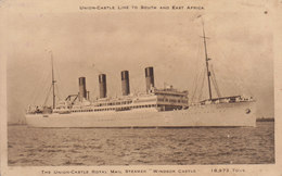Steamer Windsor Castle ( Trace)  ///  REF. Avril 20 /// N° 11.046 - Piroscafi