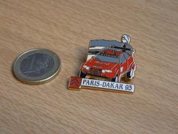 AUTOMOBILE  RALLYE . PARIS DAKAR 1993. CITROEN TOTAL MICHELIN. ZAMAC. - Rallye