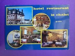 80.  CPSM   ABBEVILLE  Hôtel Restaurant. «Le Chalet»  Bon état - Abbeville