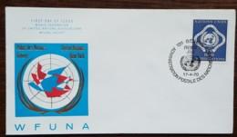 Nations-Unies / Genève - FDC 1970 - YT N°14 - Paix , Justice, Sécurité - FDC