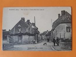 CPA - TRAINEL - Pont De Sens Et Grande Rue St Saint Antoine - Otros Municipios