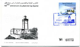 Maroc 2015 Y&T N° 1707 FDC Phare Du Cap Spartel - Marruecos (1956-...)