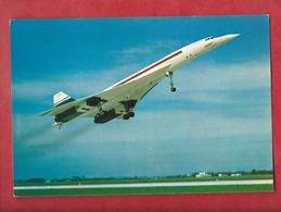 CPM - Avion Concorde - Avions , Aviation , Aviations - Avions