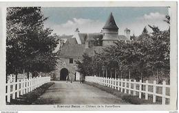 Riec Sur Belon. L'arrivée Au Chateau De La Porte Neuve. - Autres Communes