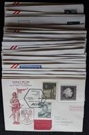 Österreich 1964/66, Partie 35 Erstflüge - AUA-Erstflüge