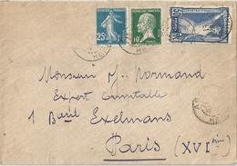 Lettre France 1924 - France