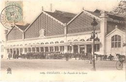 Dépt 45 - ORLÉANS - La Façade De La Gare - Orleans