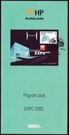 Croatia 2000 / EXPO, Hannover / Prospectus, Leaflet, Brochure - Croatia