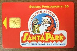 FINLANDE PÈRE NOËL CHRISTMAS TELECARTE SONERA POUR COLLECTIONNEUR PHONECARD - Christmas