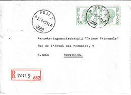 "BSD / FBA : RECOM Bf Met PZ (B) 70 Fr ""POST. 5 / 23.8.82 / A 4090 A"" + Griffe ""POST. 5"" Van MCG-BSD  Naar B - Postmark Collection"