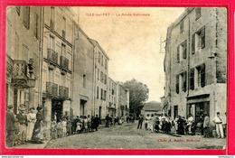 CPA (Réf : Y853) ILLE-SUR-TET(66 PYRÉNÉES-ORIENTALES) La Route Nationale (très Animé) - France