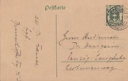 Danzig Ganzsache Minr.P14 Danzig-Langfuhr 24.9.21 - Dantzig
