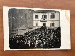 MISTRETTA (MESSINA)  CARTOLINA FOTOGRAFICA  FOTOGRAFO GIACOMO MANERCHIA  28 SETT. 1941 - Messina