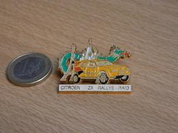 AUTOMOBILE   RALLYE RAID PARIS MOSCOU PEKIN. CITROEN ZX. 1992. - Rallye