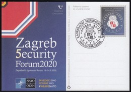 Croatia 2020 / Zagreb 5 Security Forum NATO OTAN - Croatia