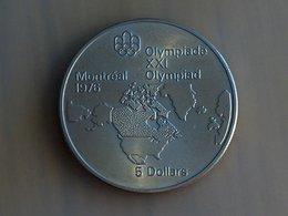 CANADA 5 Dollars 1976 Silver, Argent - Canada