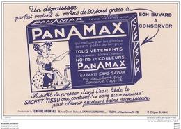 """BUVARDS  Réf-JP-R-394 (  Avec PUB    """"""""  Un Dégraissage Parfait Grasse à    PanAMax   """""""" - Wash & Clean"""