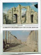 """Carnet De 14 Cartes De Jordanie -"""" JERASH """" - Jordanie"""