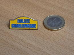 AUTOMOBILE   RALLYE DES CHARLEMAGNE. - Rallye