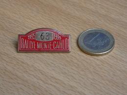 AUTOMOBILE   63éme RALLYE MONTE CARLO 1995. ZAMAC. - Rallye