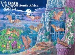 South Africa  2001 Mi.No. 1375 - 1384  Südafrika ANIMALS Bats Butterflies 10 V   MNH  6,00 € - Afrique Du Sud (1961-...)