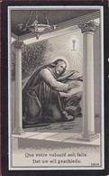 De Schrijver Buytaert Claus St Sint Gillis Waas Waasland 1917 Litho Lithographie Bidprentje Doodsprentje Image Mortuaire - Images Religieuses