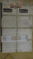 Emprunt Rothschild 720 Roubles 1822 Lot De 3 Actions - Russie
