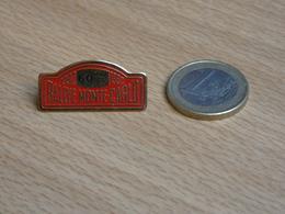 AUTOMOBILE   60 éme RALLYE MONTE CARLO 1992. - Rallye