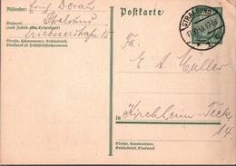 ! 1933 Ganzsache Deutsches Reich,  Stempel Stralsund - Briefe U. Dokumente