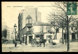 St Mandé 94 Rue Sacrot La Grande Chaumière Gondry 2238  Animée Salon Pour Noces Et Banquets 1910 - Saint Mande