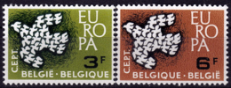 Belgique - Europa CEPT 1961 - Yvert Nr. 1193/1194 - Michel Nr. 1253/1254  ** - 1961