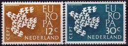 Pays Bas - Europa CEPT 1961 - Yvert Nr. 738/739 - Michel Nr. 765/766  ** - 1961