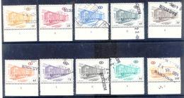 A120 Belgie Spoorwegen  Gestempeld Uit Reeks TR 433-454 Met Plaatnummer - Chemins De Fer