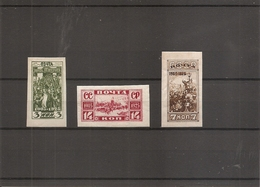 Russie ( 348/350 X -MH) - Unused Stamps