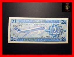 NETHERLANDS ANTILLES 2 ½ 1 Gulden  8.9.1970  P. 21  UNC - Antilles Néerlandaises (...-1986)