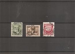 Russie ( 345/347 Oblitérés ) - 1923-1991 USSR