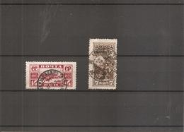 Russie ( 352/353 Oblitérés  - Dentelure 13 1/2)) - 1923-1991 USSR