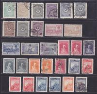 TURQUIE Empire Ottoman LOT TIMBRES */° MLH/Used, Neufs Avec Charnière Où Oblitérés, Etats Divers (Lot 1349) - 1858-1921 Empire Ottoman