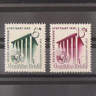 Allemagne, 3ème Reich 1933-1945, N° 632-633, N** Cote 17€ - Unused Stamps