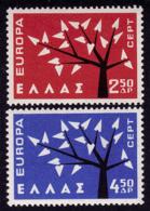 Grèce - Europa CEPT 1962 - Yvert Nr. 774/775 - Michel Nr. 796/7797  ** - Europa-CEPT