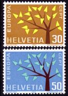 Suisse - Europa CEPT 1962 - Yvert Nr. 698/699 - Michel Nr. 756/757  ** - Europa-CEPT
