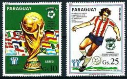 Paraguay U  855/856 (o) Usado. 1880 - Paraguay
