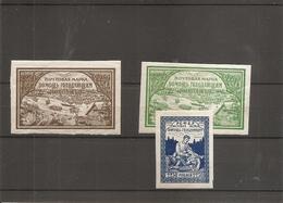 Russie ( 153/155 Et 156 X -MH) - 1917-1923 Republik & Sowjetunion