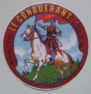 Etiquette Camembert - Le Conquérant - Laiterie GECODI 61-AJ Besnier Orne - Normandie    A Voir ! - Fromage