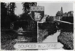 Sources De La Seine - La Grotte Et Le Pont à 50m En Val Des Sources - Non Classés