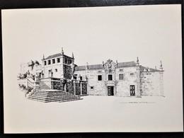 "Portugal,Uncirculated Postcard, ""Architectural Heritage"", ""Architecture"", ""Urbanism"",""Drawings"", ""Cities"", ""Sernancelhe"" - Otros"